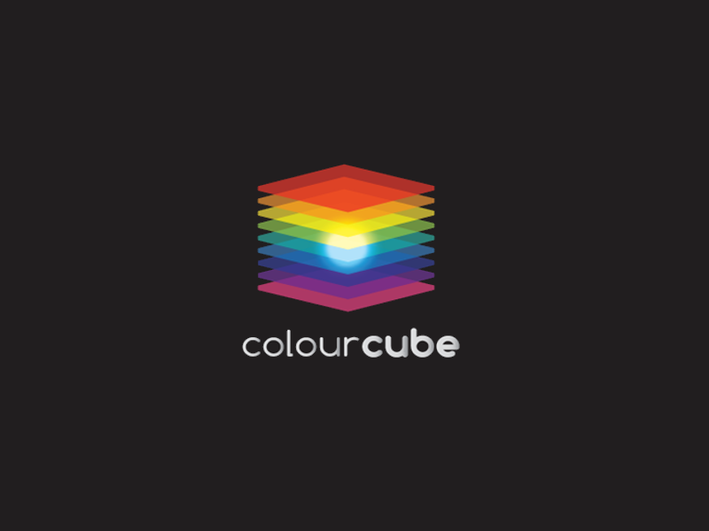color cube logo design1