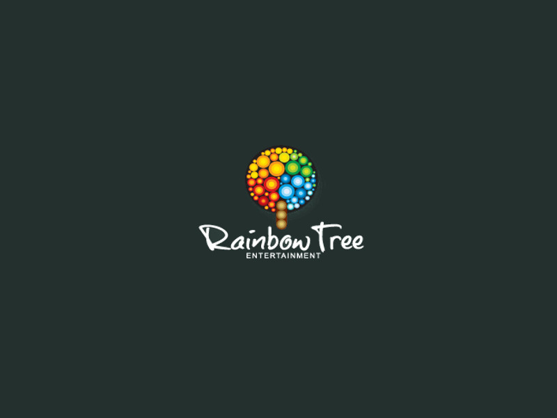 Rainbow Tree Logo Design