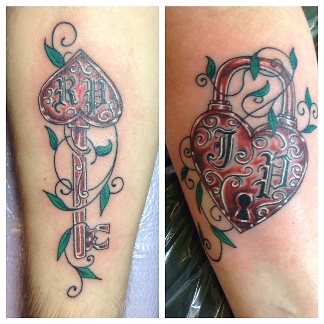 30 Key Tattoo Designs Ideas: 29+ Lock And Key Tattoo Designs , Idea