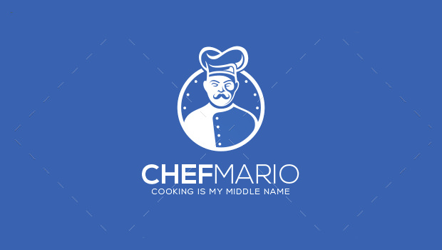 Chef Mario Logo Design