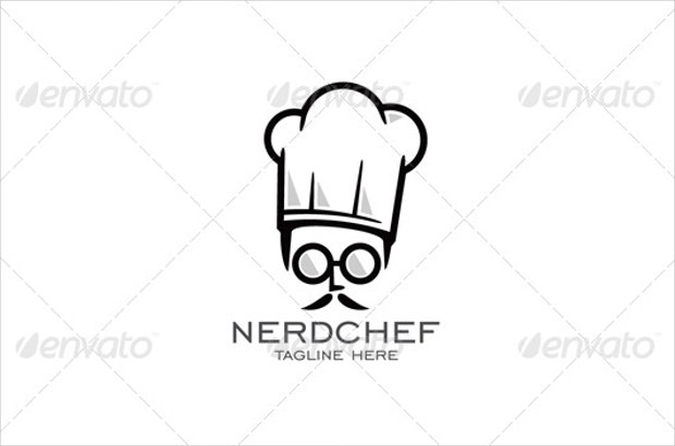 Nerdchef Beautiful Logo