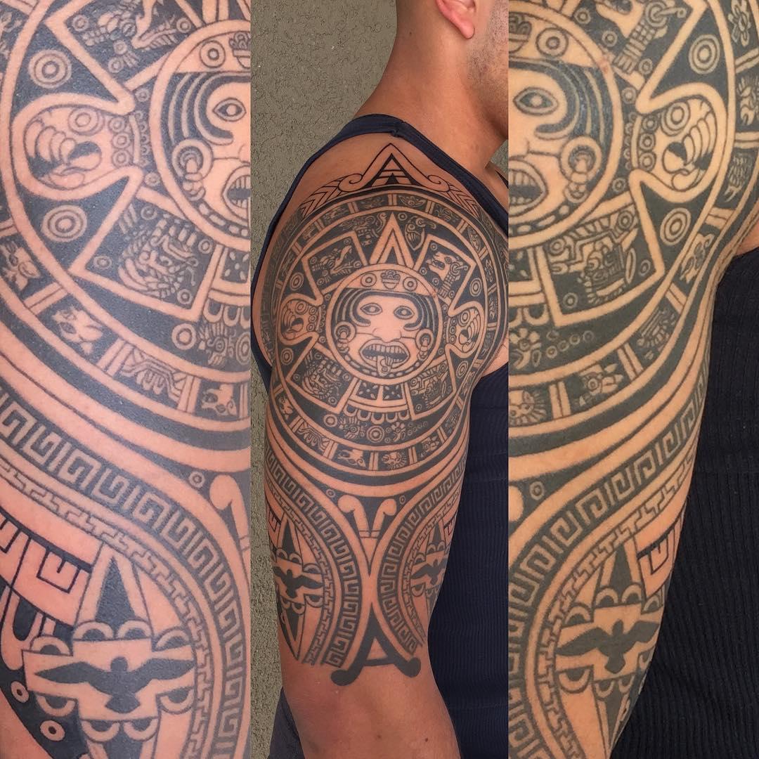 Sacred Sun Tattoo