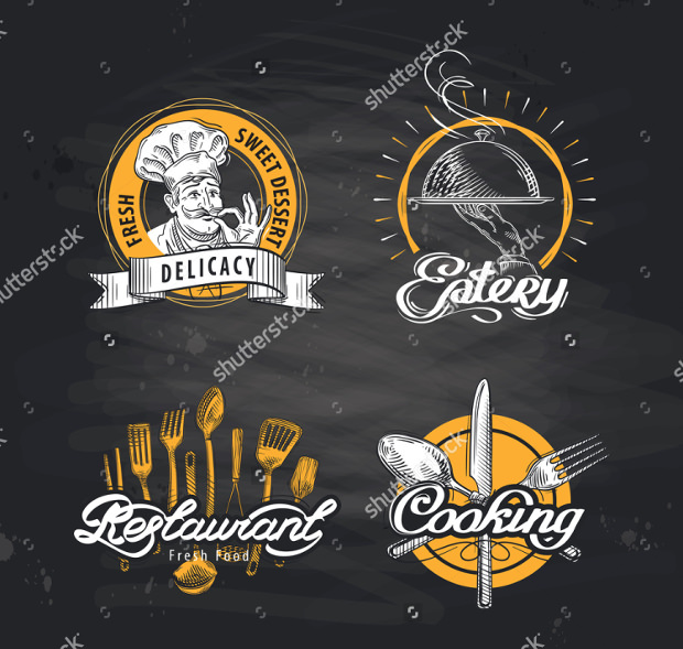 Eatery Vector Logo Design