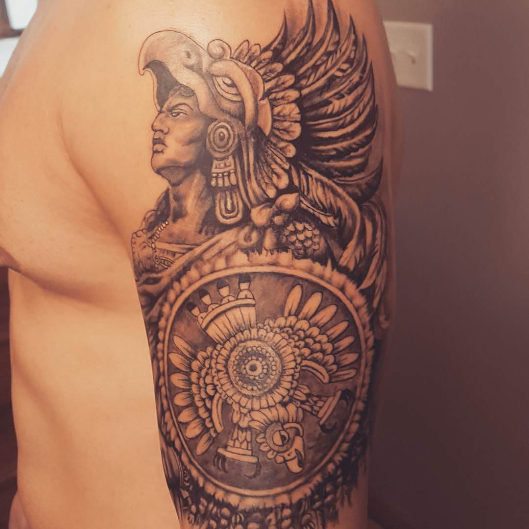 28+ Ornamental Aztec Tattoo Designs, Ideas
