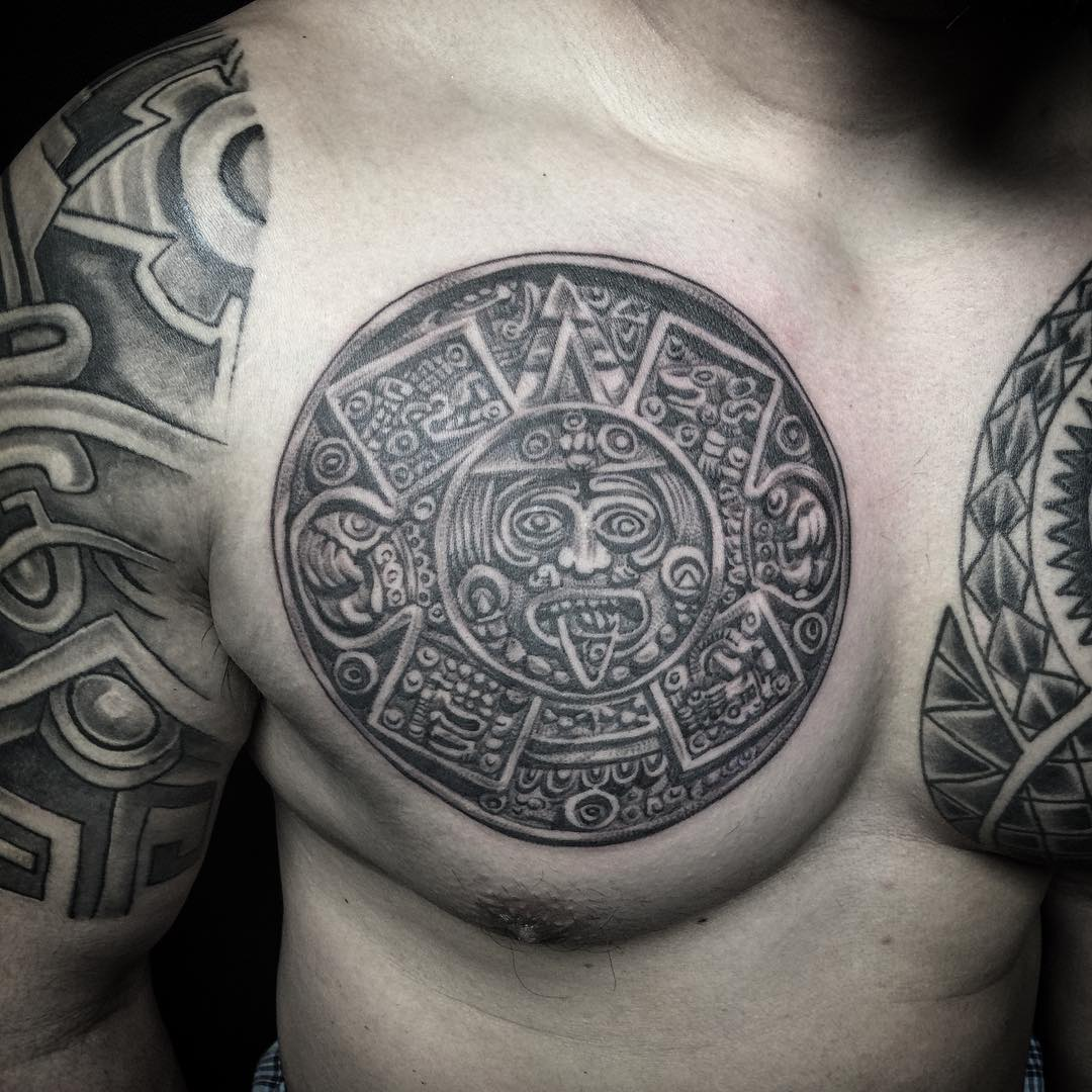 chest tattoo design