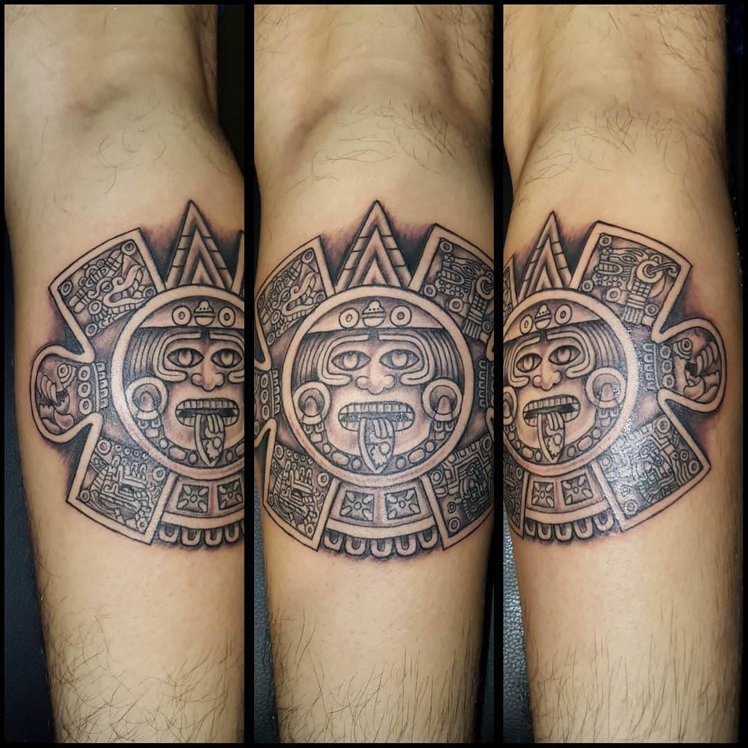 Aztec Sun Design