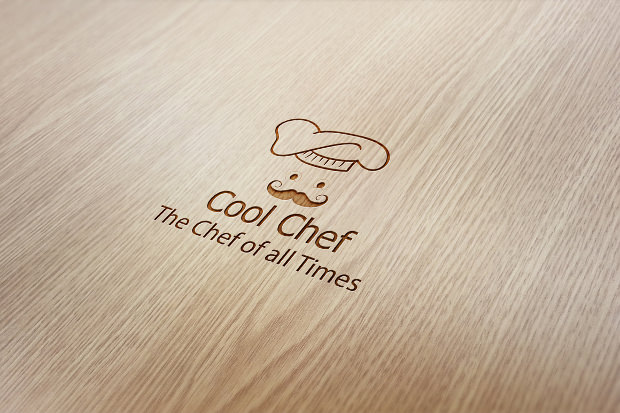 Cool Chef Design Logo