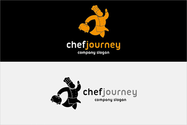 Chef Journey Amazing Logo