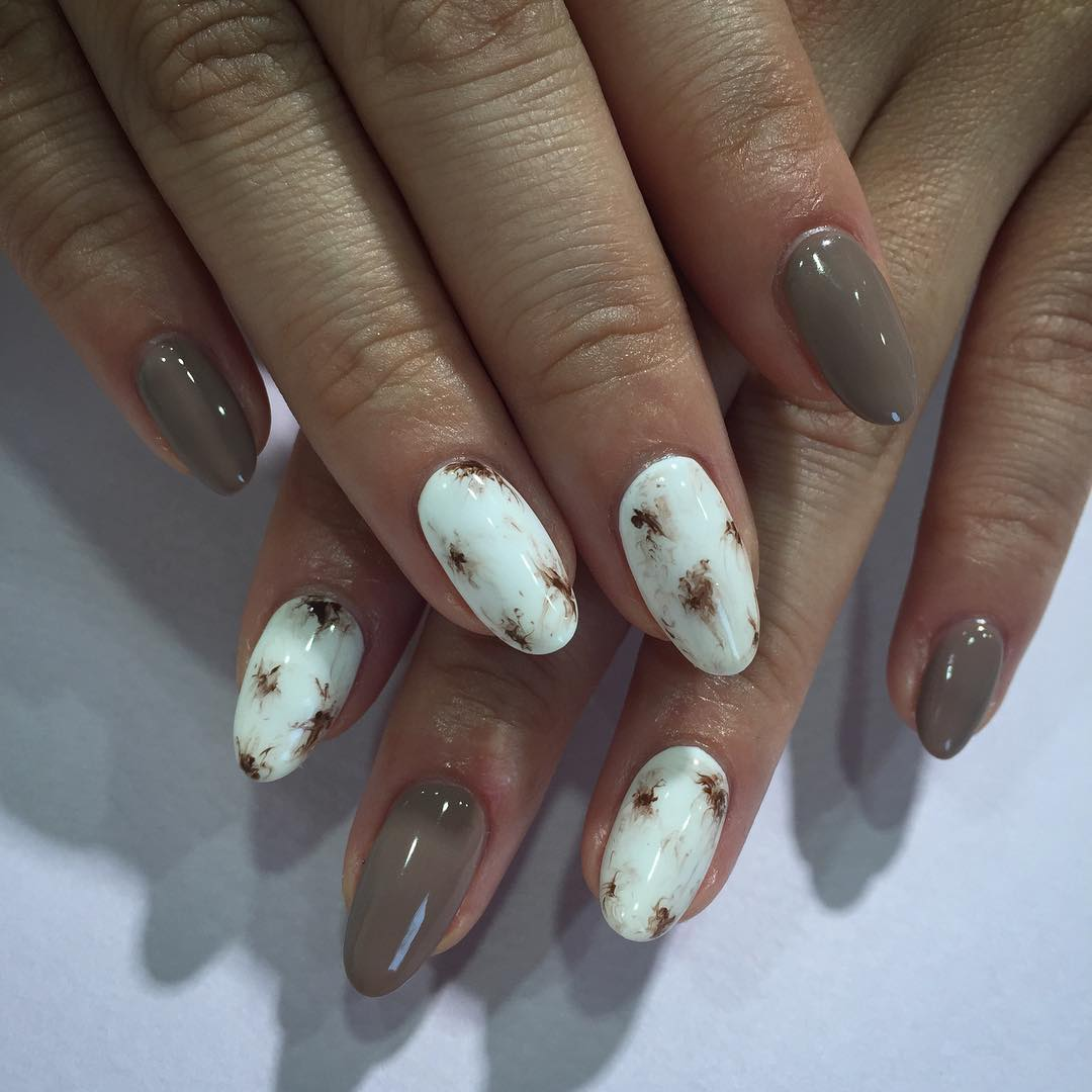 Classy Brown Nail Design - 25+ Brown Nail Art Designs, Ideas Design Trends - Premium PSD