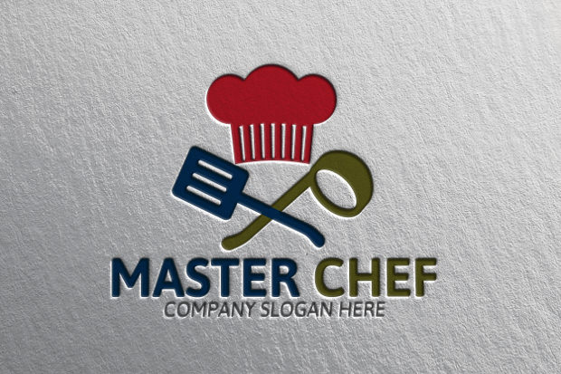 Wonderful Logo of Master Chef