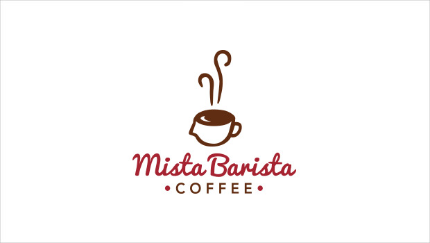 Mista Barista Coffee Logo Design