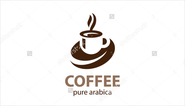Coffee Cup Form Logo Design