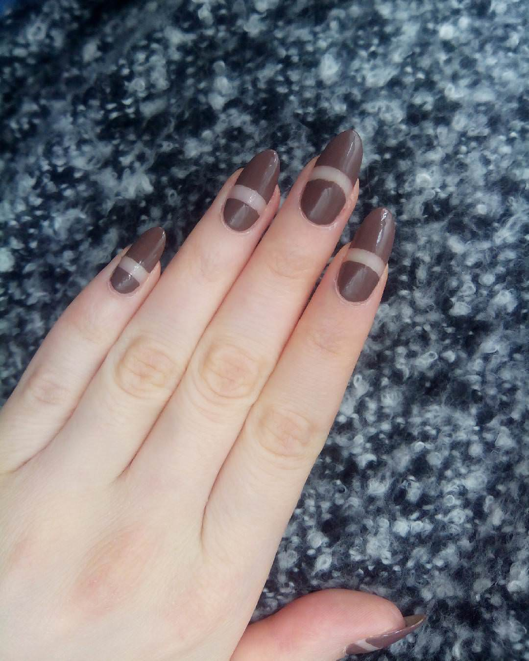 Cute Looking Brown Nails