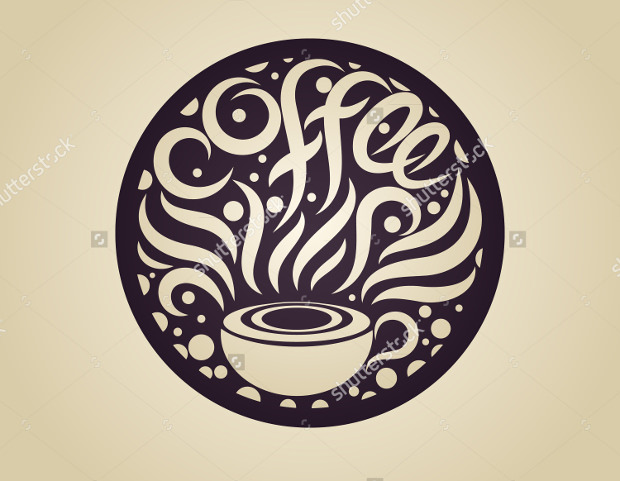 Vector Logo of Coffee