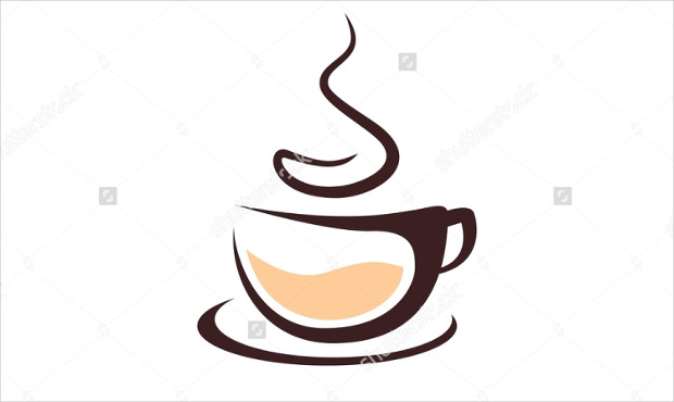 Simple Coffee Logo Lable