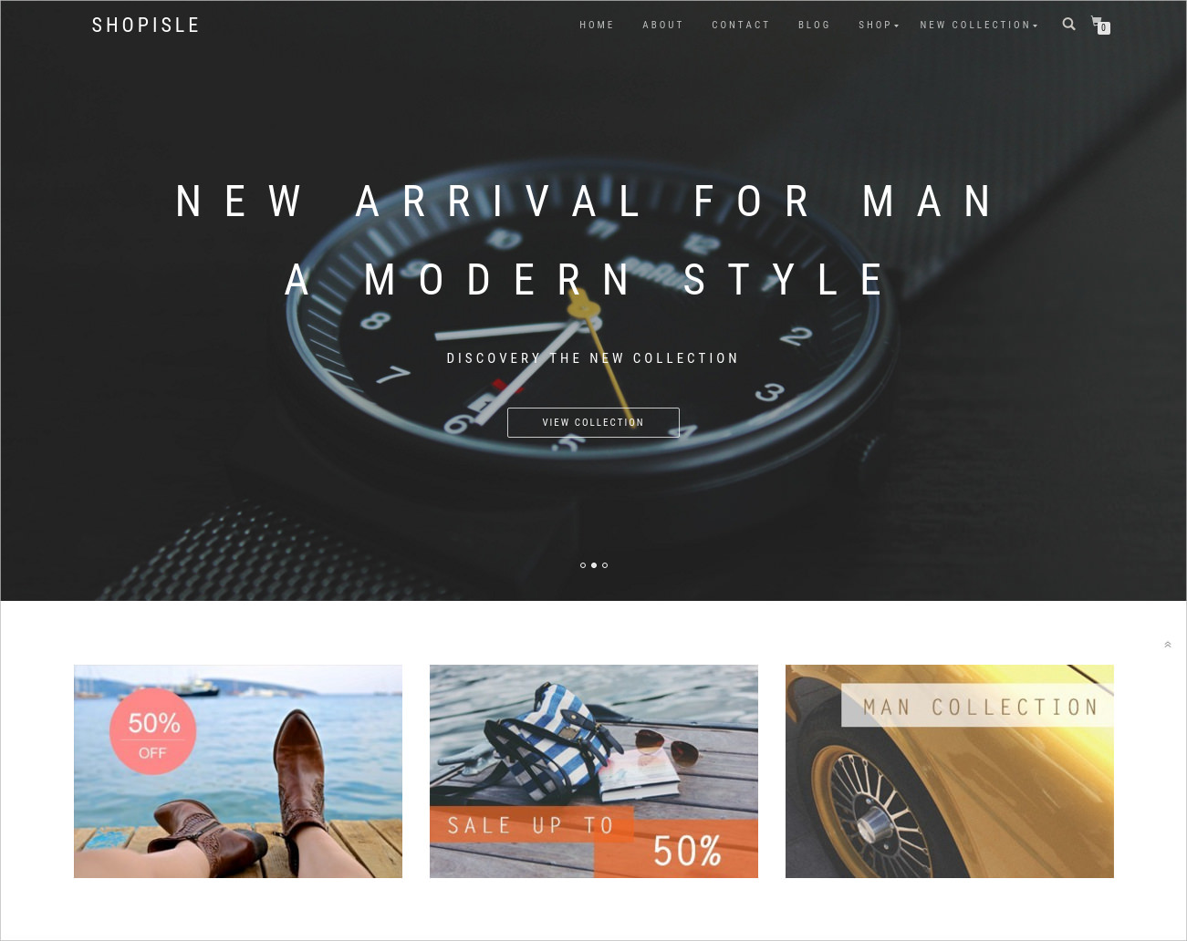 Clean & Elegant Free WordPress Theme