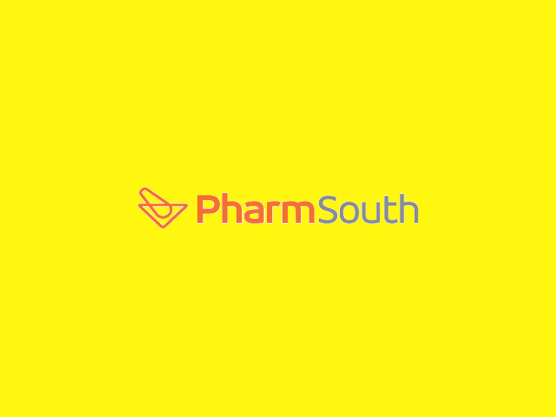 Pharm South Logo Design