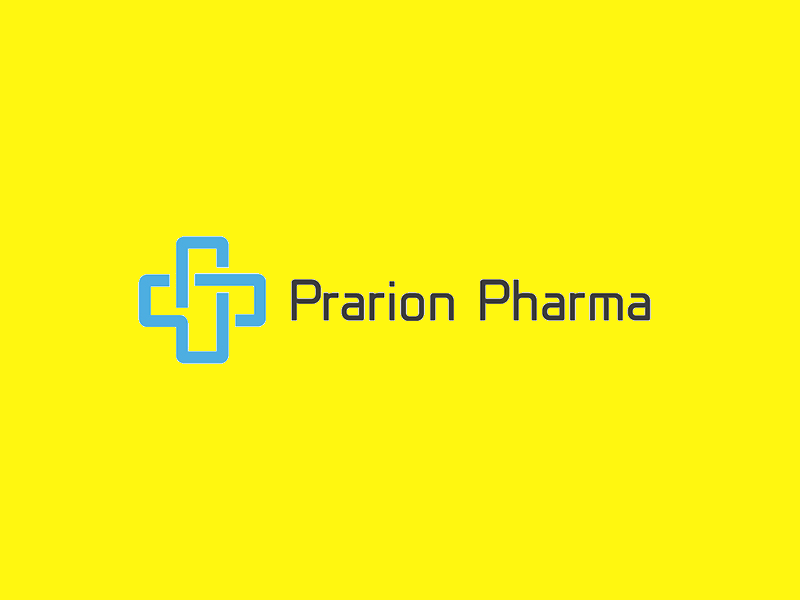 Prarion Pharma Logo Design