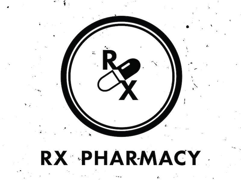 Circular Pharmacy Logo Design