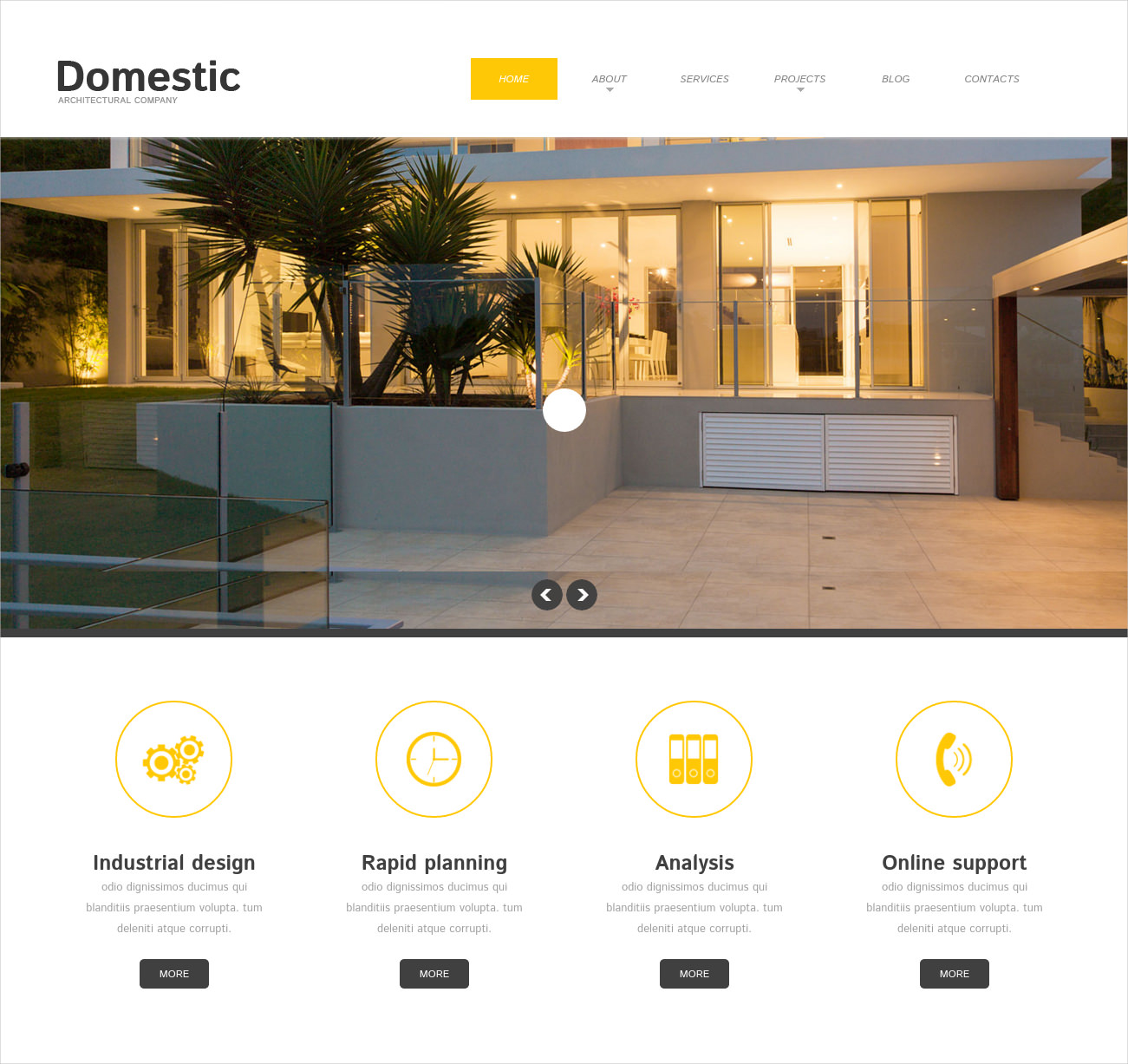 architecture responsive wordpress theme 49