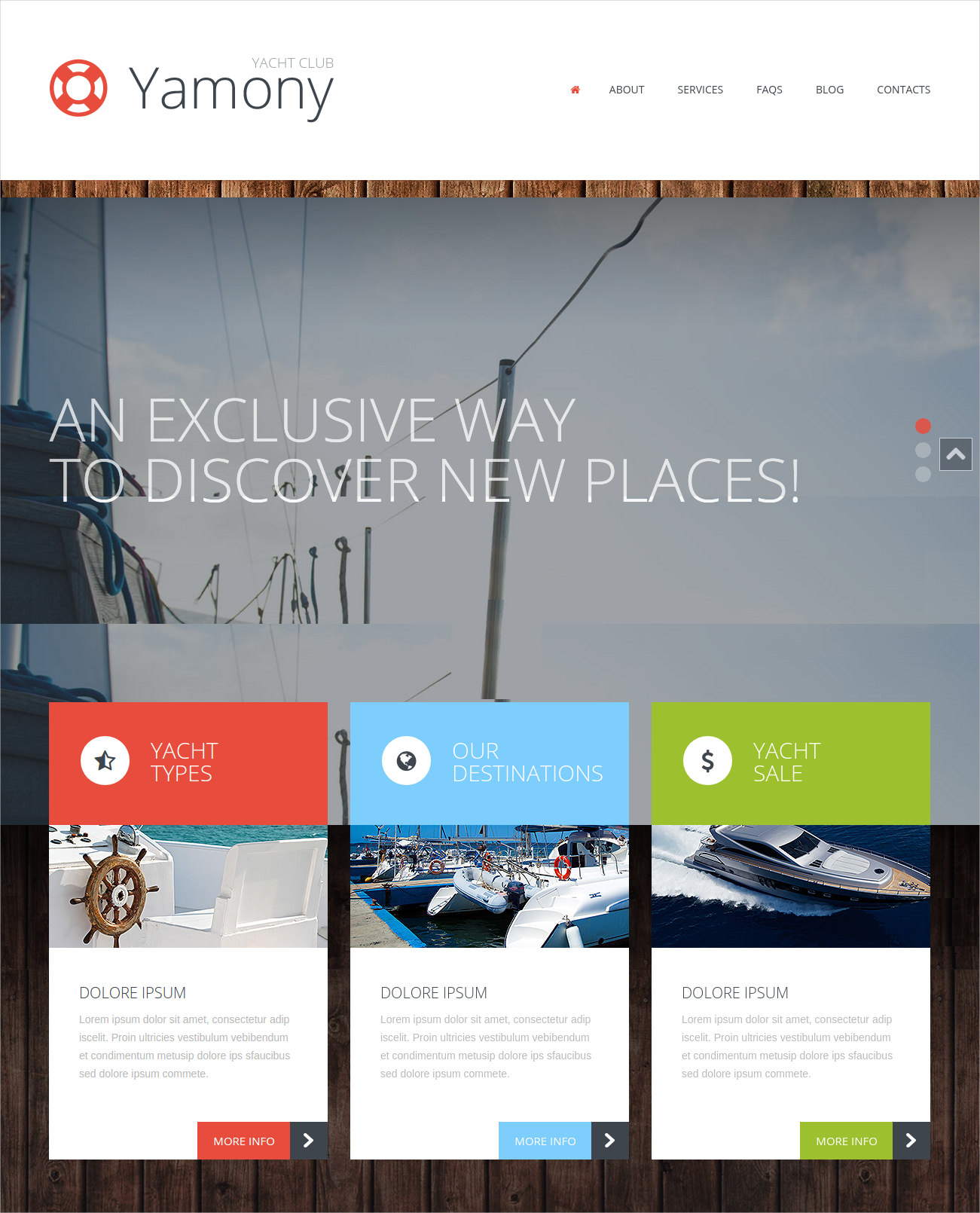 boating responsive wordpress theme 49