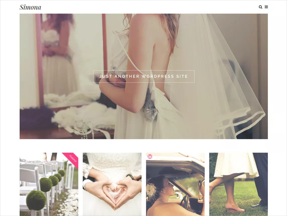 Elegant & Clean Responsive WP Theme
