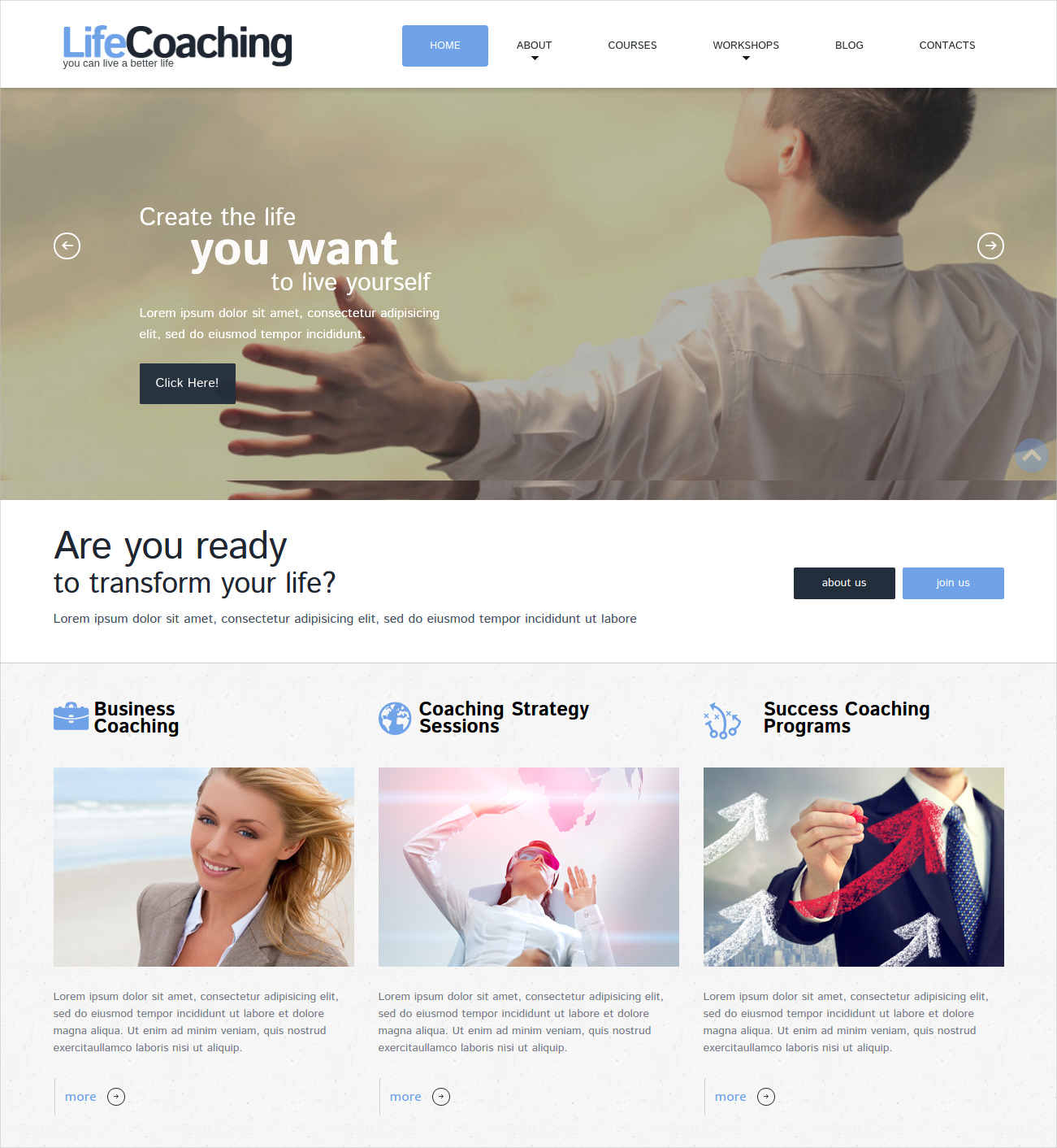 life coach wp theme 49