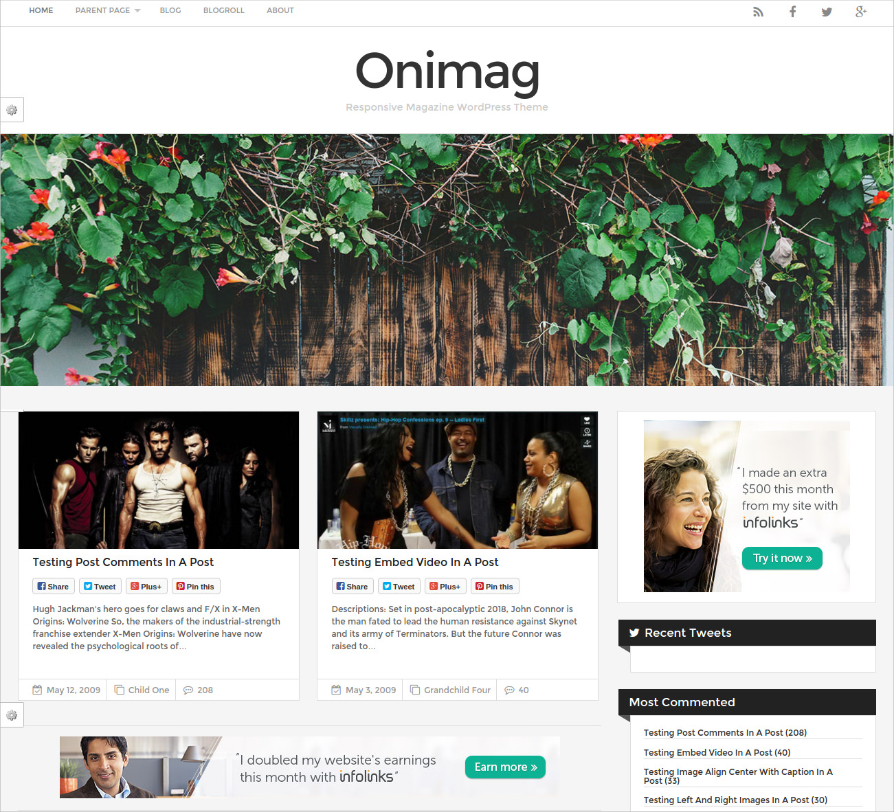 magazine wordpress theme free