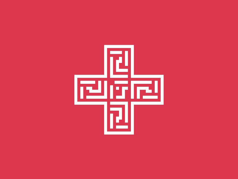 Cross Logo for Pharmacy