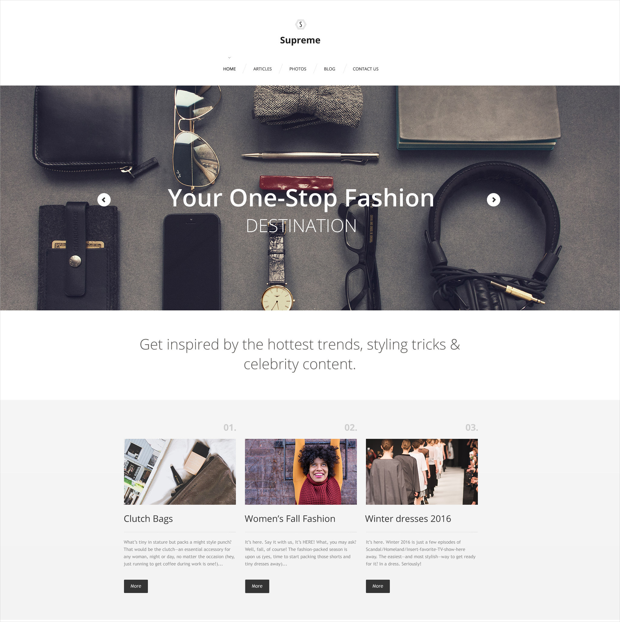wordpress fashion template 75