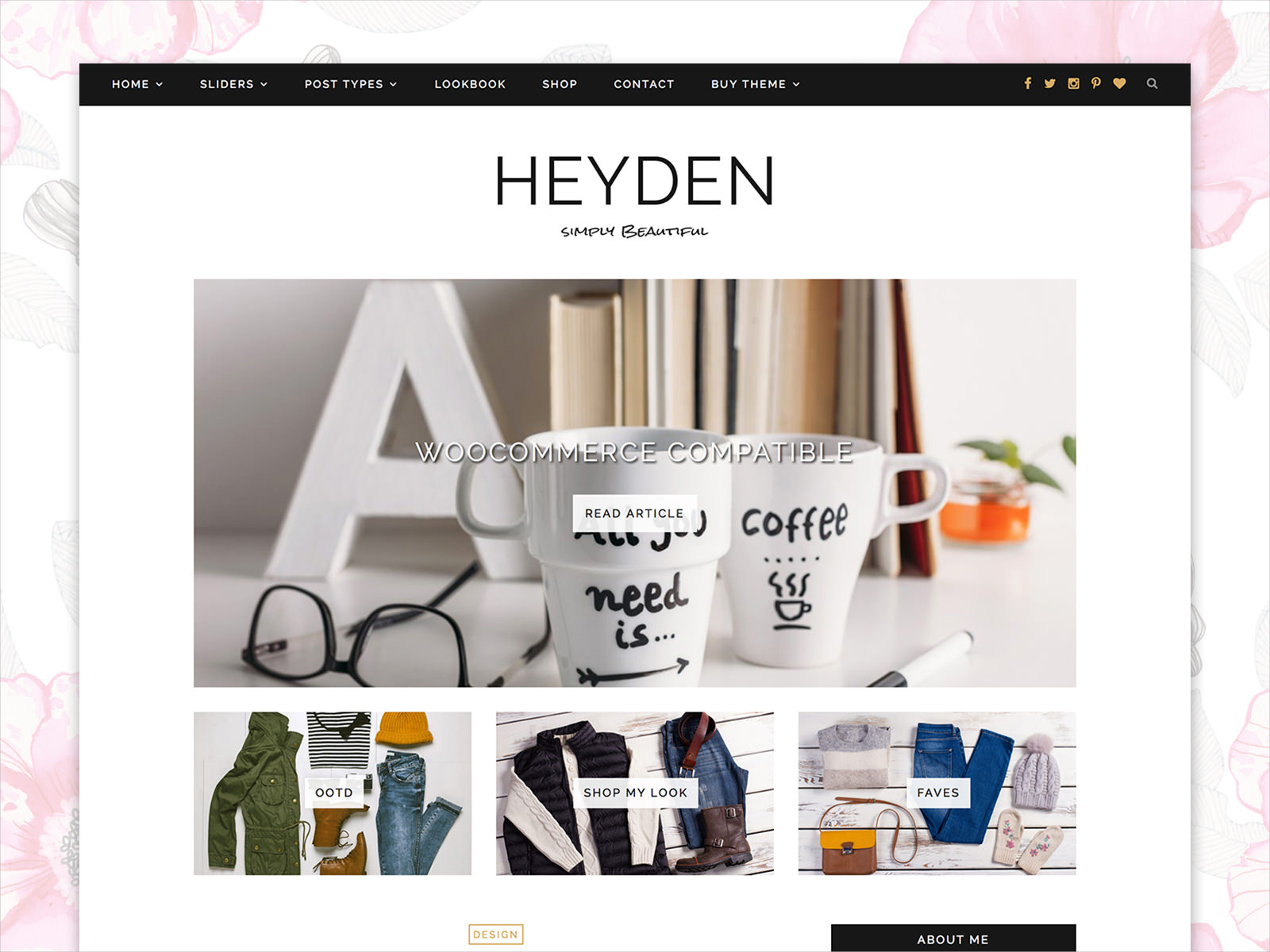 wordpress theme responsive heyden 35