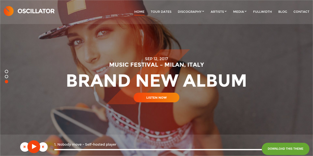 Best WordPress Theme for Musicians