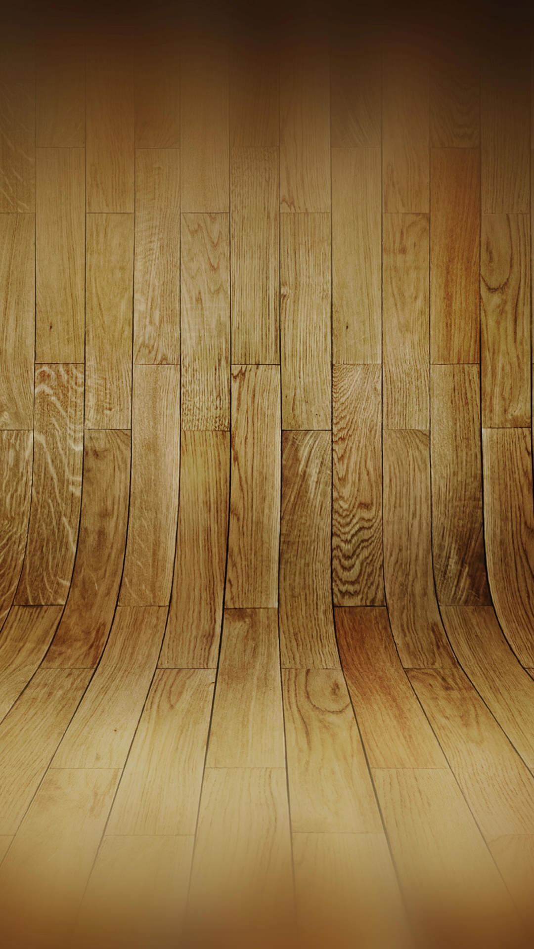 curved wooden floor pattern iphone 6 hd wallpaper