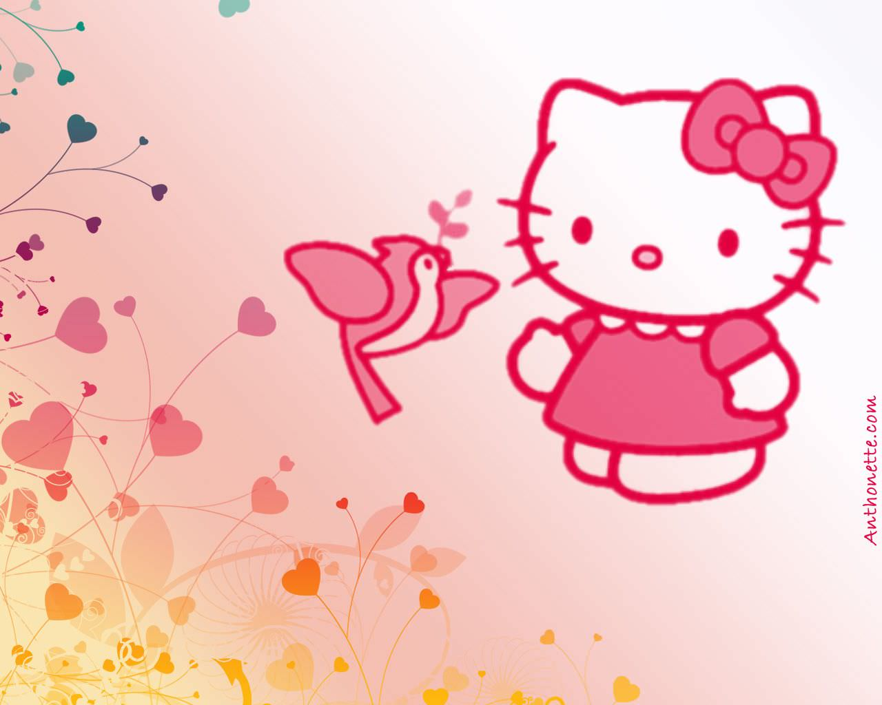 30 Hello Kitty Backgrounds Wallpapers