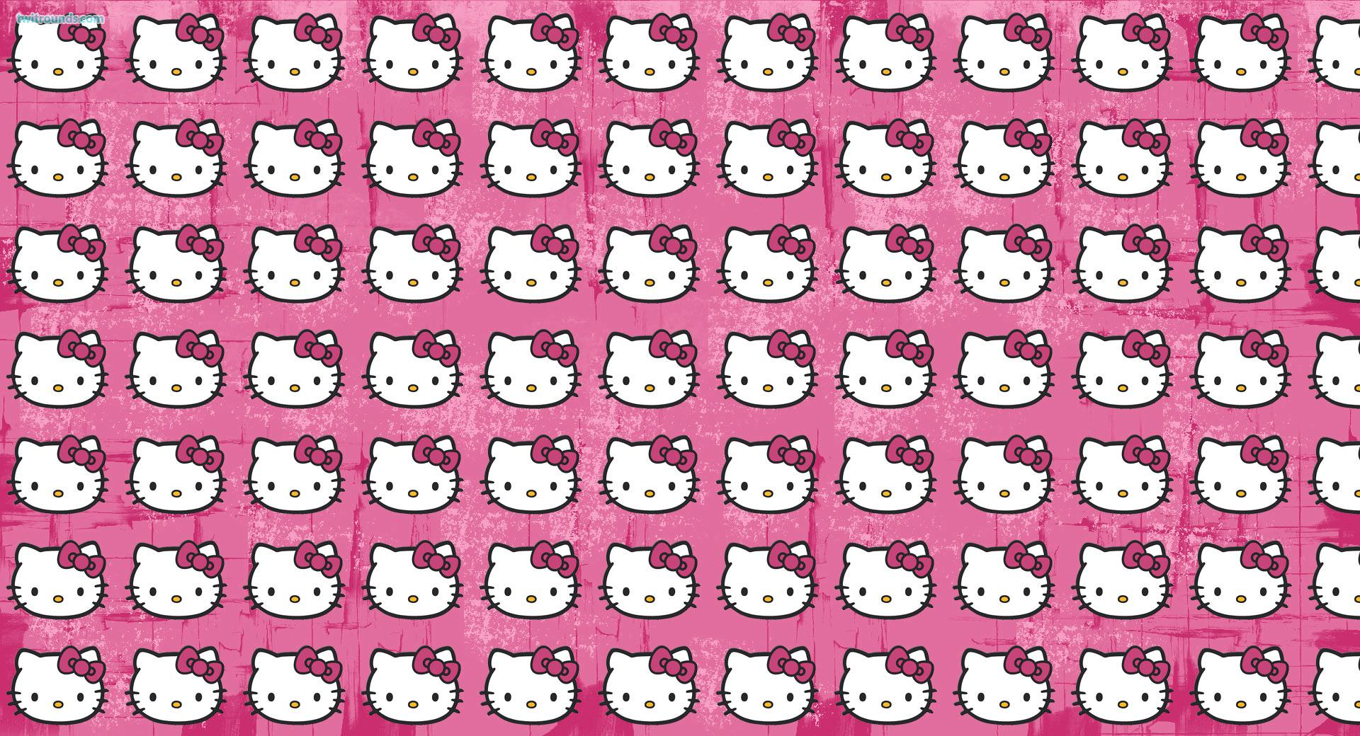 download hello kitty pattern wallpaper