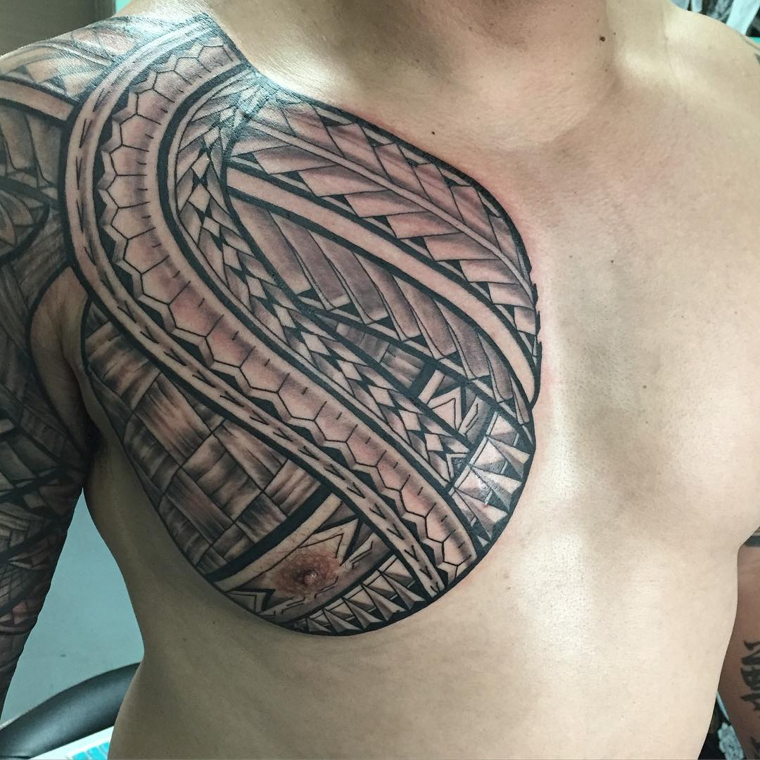 Modern Hawaiian Tattoo