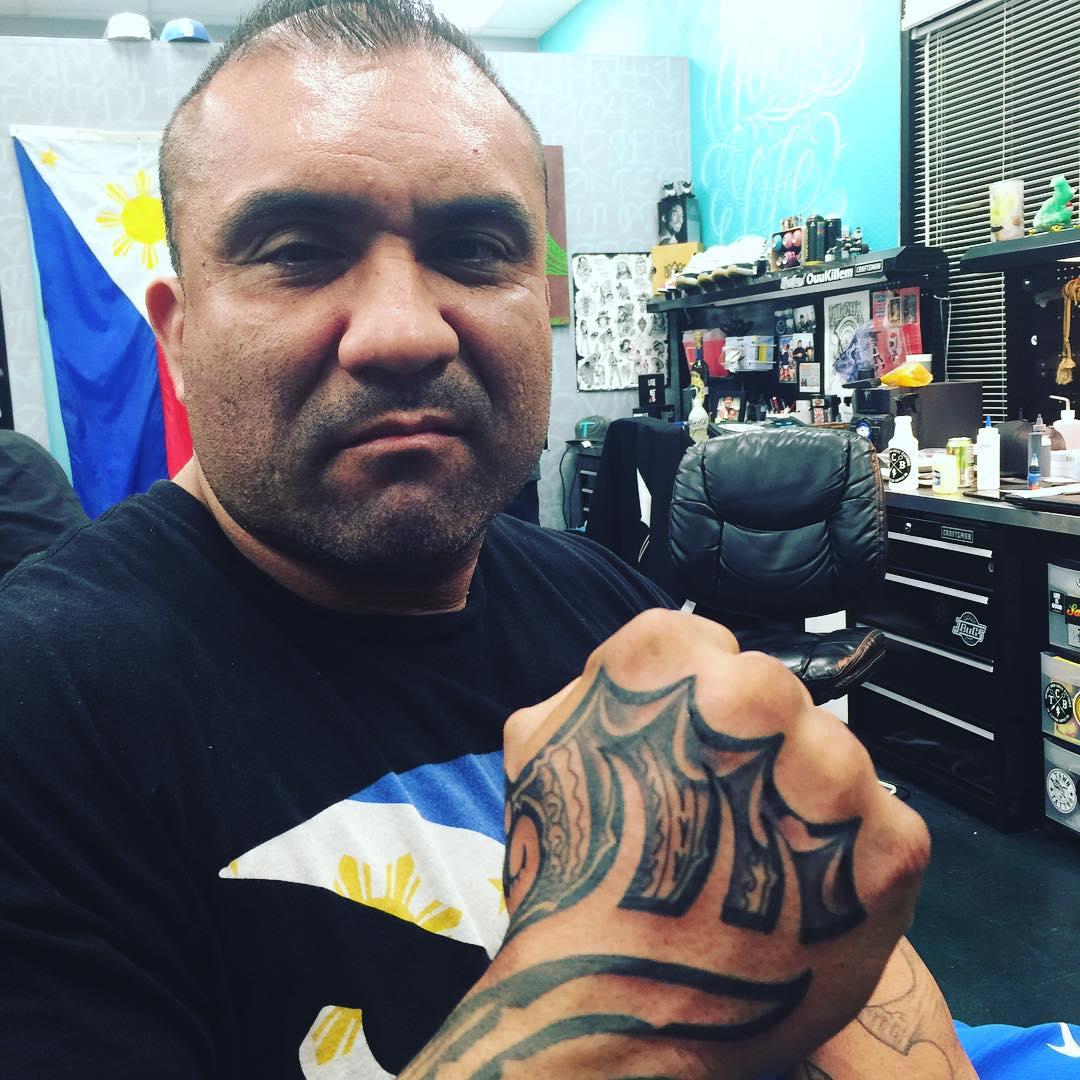 Good Looking Hawaiian Tattoo on Hand