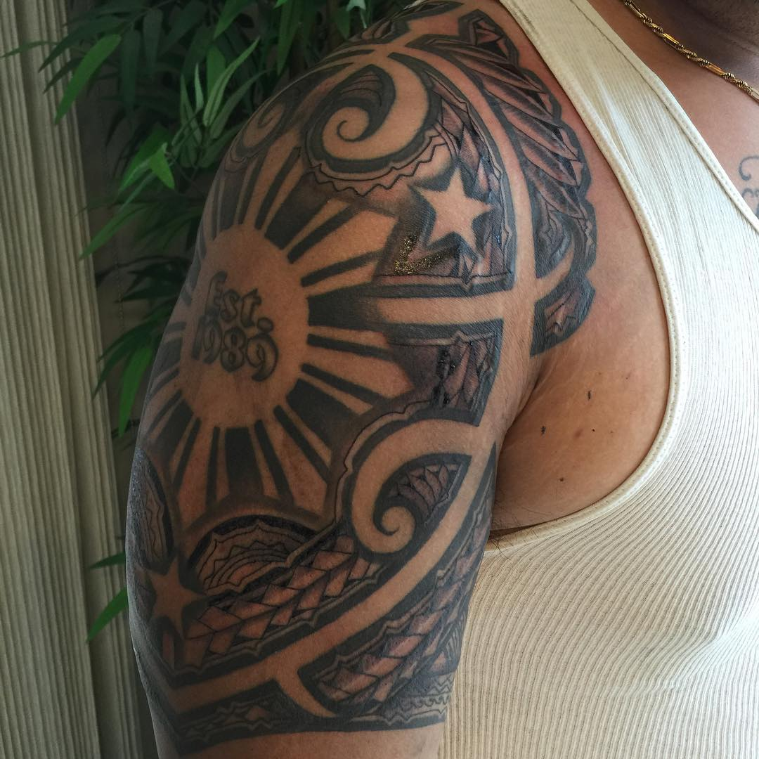 Fabulous Hawaiian Tattoo for Men