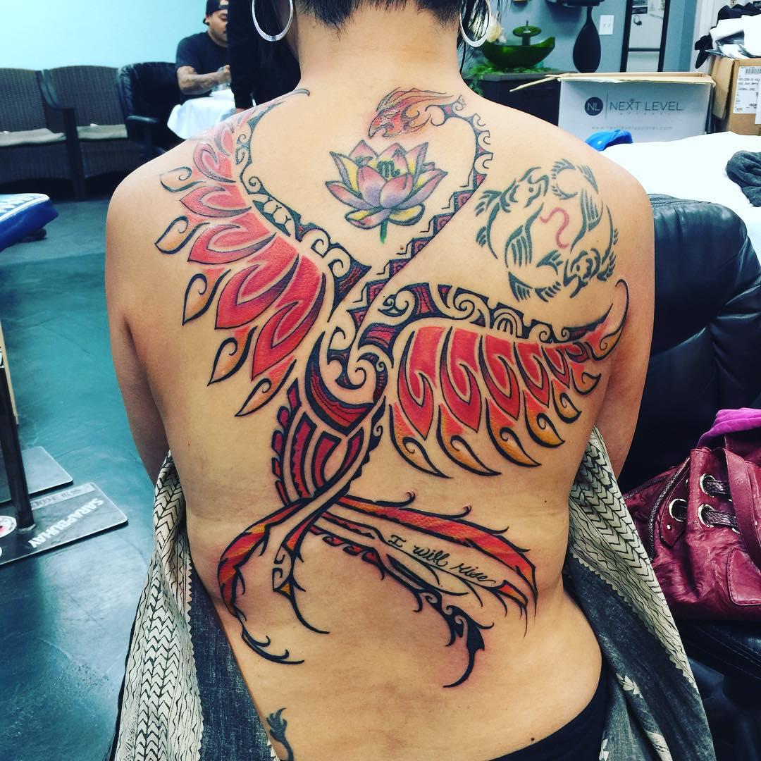 Hawaiian Full Body Tattoo