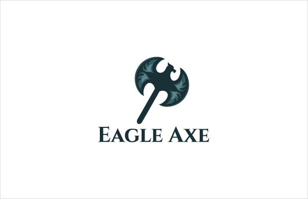 eagle axe awesome logo