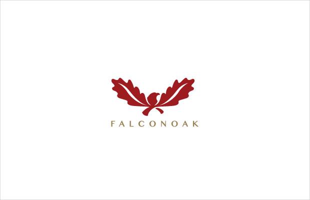 falcon oak logo symbol
