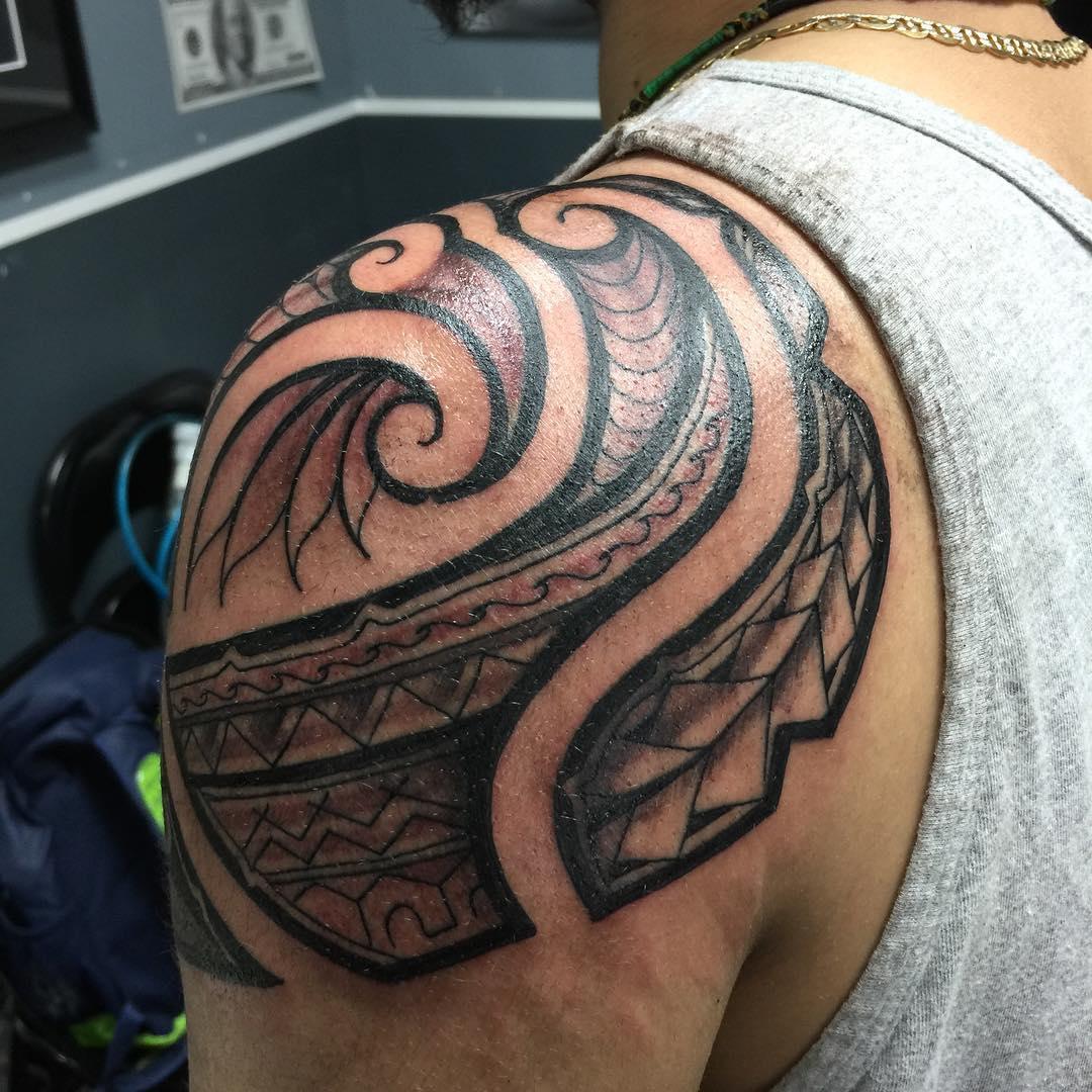 Sleeve Hawaiian Tattoo