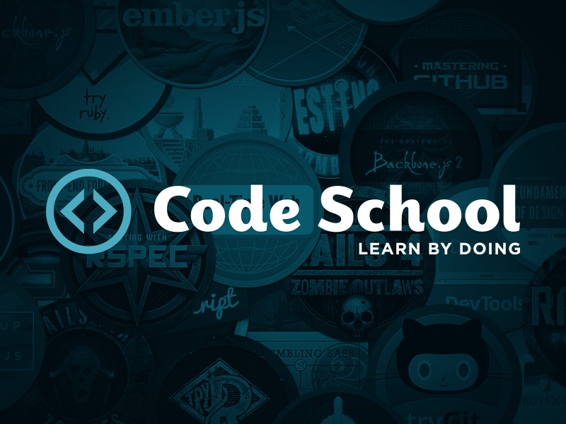 code school logo design