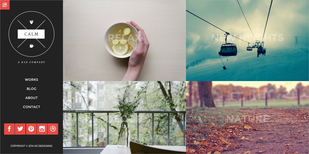 clean and lightweight blog and portfolio theme 49