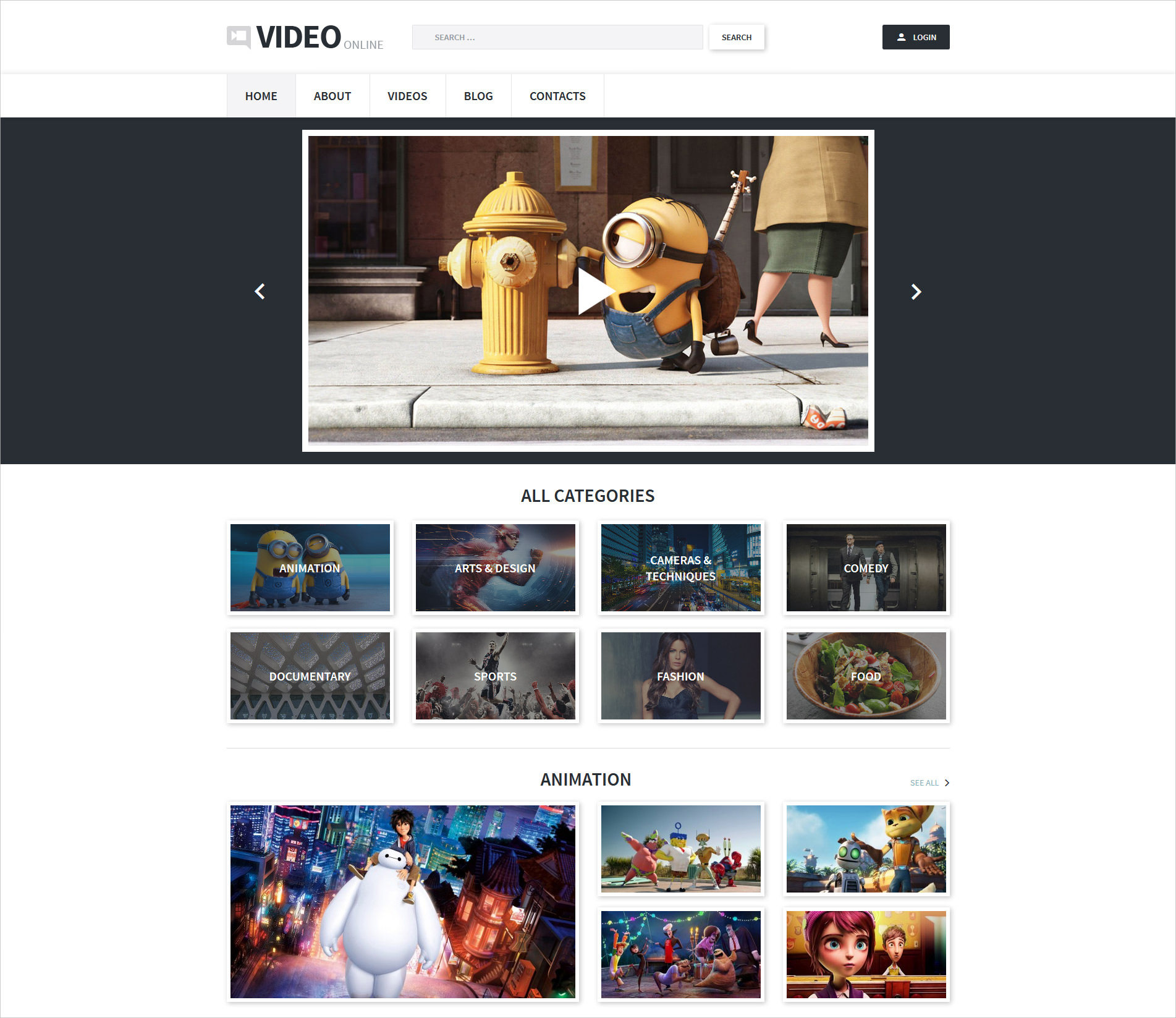 Video Record WP Theme