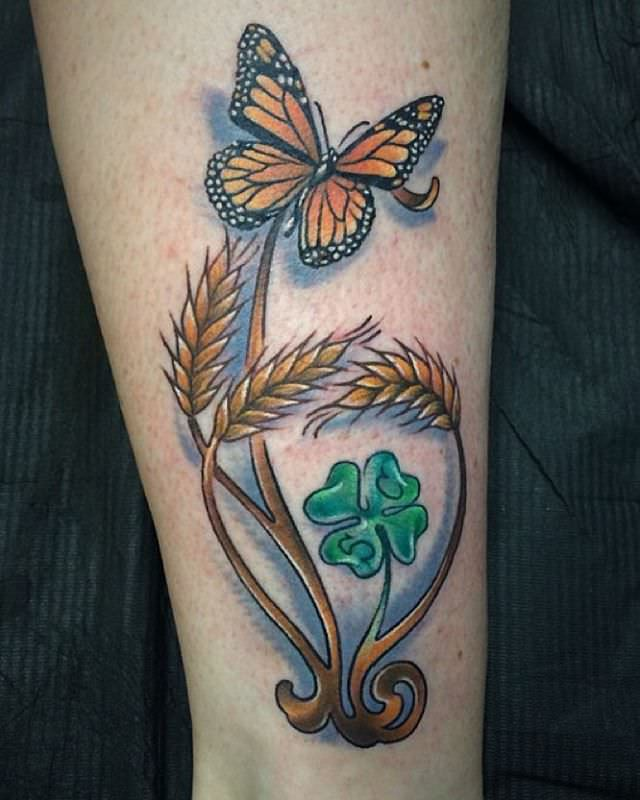 Beautiful Irish Tattoo