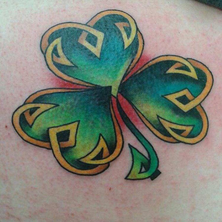 Awesome Irish Tattoo Design