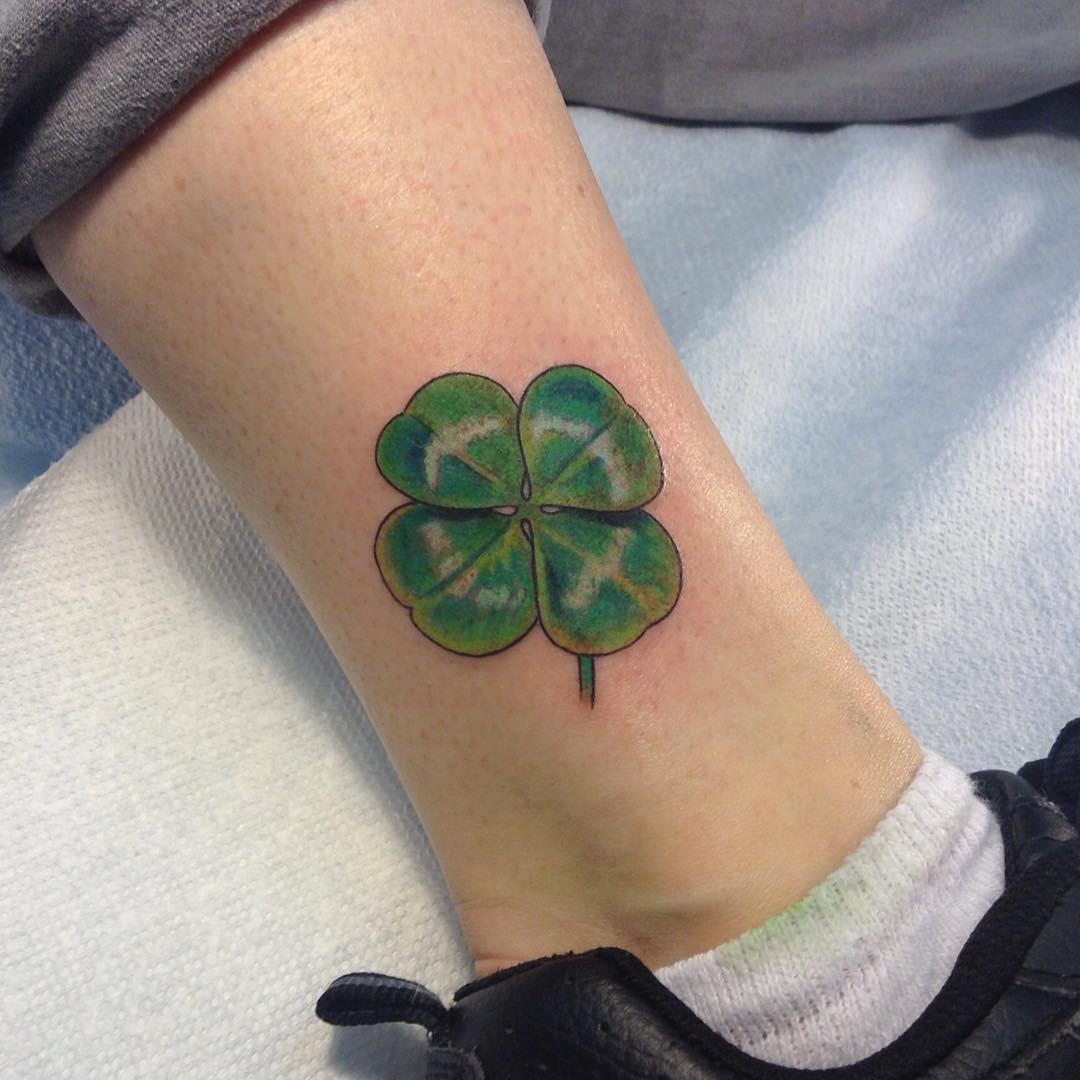 Fashionable Irish Tattoo