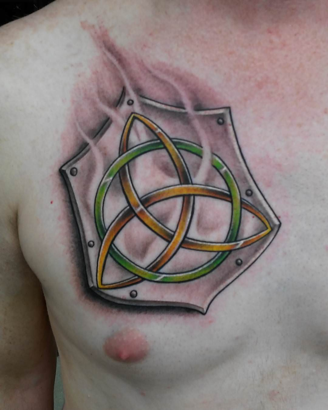 Creative Irish Tattoo Design