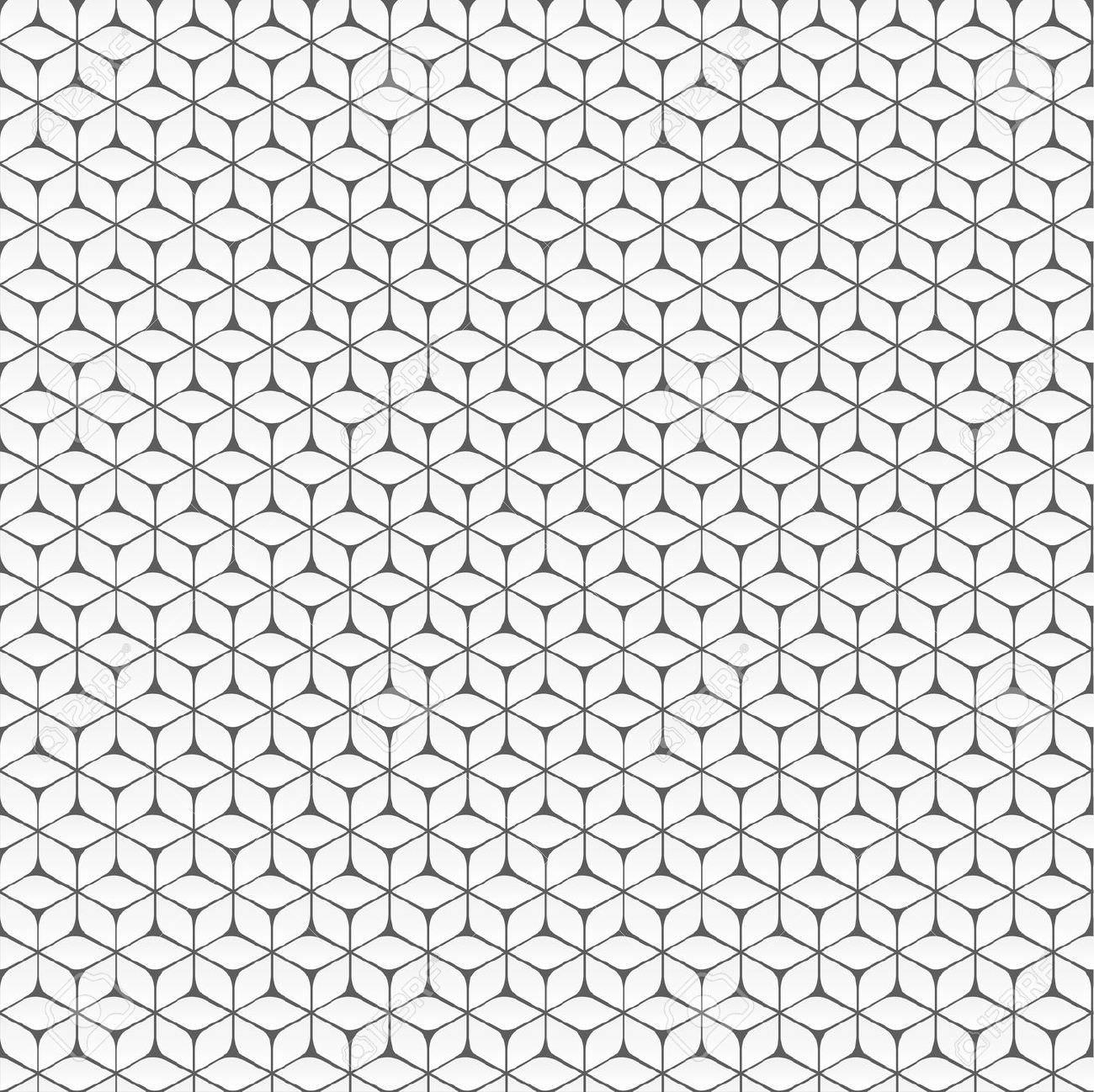 White Origami Pattern